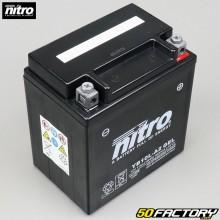 Batería Nitro Gel YB10L-A2 12V 11Ah Yamaha XV, Suzuki GN, GSX ...