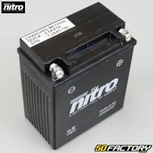 Batería Nitro Gel YB12AL-A2 12V 12Ah Peugeot Citystar,  Yamaha XT, XV ...