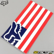 Sticker Fox Racing America Flag 15cm