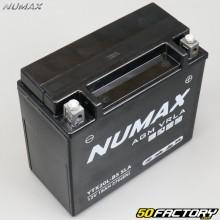 Batterie Numax YTX20L-BS SLA 12V 18Ah acide sans entretien Honda VTX 1800, Yamaha YFM Grizzly...