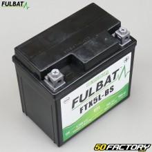 Batterie FTX5L-BS/FTZ6S 12V 5Ah gel Derbi DRD Pro, Malaguti, Booster, Trekker, Agility... Fulbat