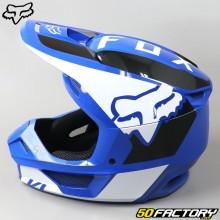 Casque cross Fox Racing V1 Revn bleu