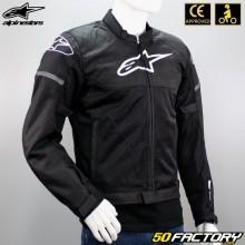 Jaqueta Alpinestars TSPS Air aprovado motocicleta CE preta