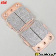 Plaquettes de frein métal fritté Honda TRX 400, Suzuki LTZ 400, Yamaha Raptor 660, YZ… SBS Racing