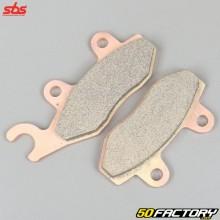 Plaquettes de frein métal fritté HM, Derbi, Honda NSR, Kawasaki KLX 250, Yamaha YFZ 450... SBS Off-Road