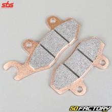 Plaquettes de frein métal fritté HM, Derbi, Honda NSR, Kawasaki KLX 250, Yamaha YFZ 450... SBS