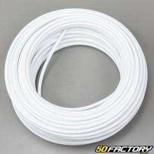 Kabelhülle für Gas- und Chokezug, Anlasser-/Dekompressor/Bremszug 5mm (25 Meter), weiß