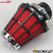 Filtro de ar do carburador PHVA e PHBN 30 ° Malossi suporte preto vermelho