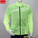 Fluorescent yellow LS2 rain jacket