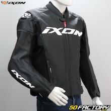 Jaqueta Ixon Sparrow Motocicleta preta e branca com aprovação CE