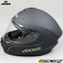 Capacete Axxis Draken Solid full face preto fosco