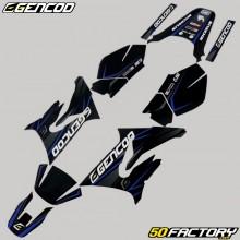Kit déco Yamaha DT 50 et MBK X-Limit (depuis 2003) Gencod Evo bleu