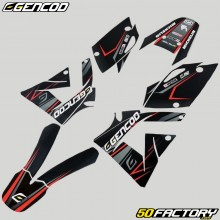 Kit déco Rieju SMX, MRX (2005 - 2008) Gencod Evo rouge