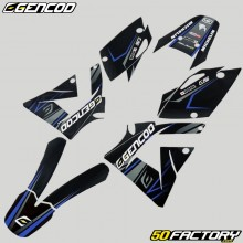 Kit déco Rieju SMX, MRX (2005 - 2008) Gencod Evo bleu