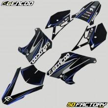 Kit déco Peugeot XP6 (depuis 2004) Gencod Evo bleu