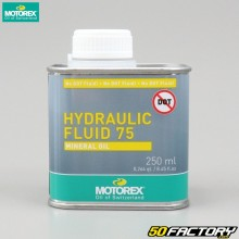 Óleo hidráulico Fluido hidráulico Motorex 75 250ml