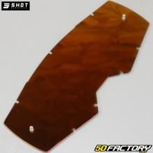 Écran pour masque Shot Core à système tear-off iridium rouge