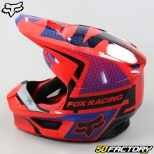 Casque cross enfant Fox Racing V1 Oktiv rouge