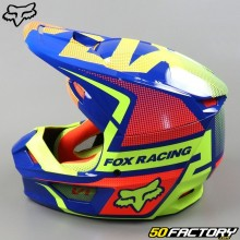 Casque cross enfant Fox Racing V1 Oktiv bleu