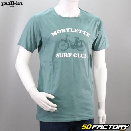 Camiseta sin mangas con ciclomotor