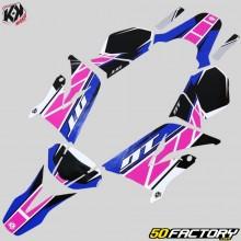 Dekor-kit Yamaha DT50 und MBK X-Limit (seit 2003) Kutvek Replica pink