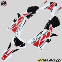 Dekor-kit Yamaha DT50 und MBK X-Limit (seit 2003) Kutvek Replica rot