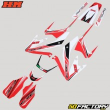 Decoration kit HM CRE Baja  50 red and white