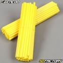 Speichenabdeckungen Cover Gencod  gelb (Kit)