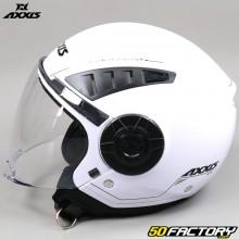 Capacete jato Axxis Metro Solid branco