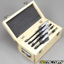 Micromètres d'extérieur 0-100mm (coffret de 4)