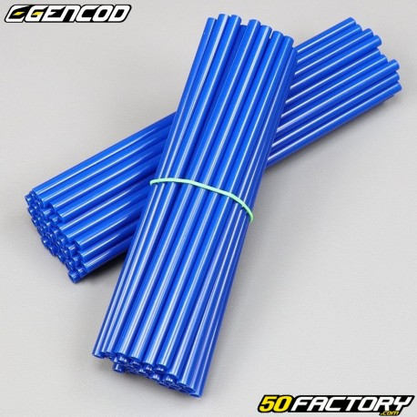 Speichenabdeckungen Cover Gencod  blau (Kit)