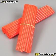 Speichenabdeckungen Cover Gencod signalrot (Kit)