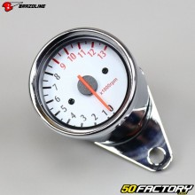 tacômetro vintage 13000 rpm Brazoline cromo
