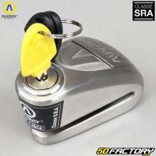 Wegfahrsperre Disc-Lock zugelassen f. Versicherung SRA Auvray m. Alarmanlage B-LOCK-10 Edelstahl