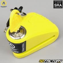 Anti-Diebstahl-Disc-Lock zugelassene Versicherung SRA Auvray DK-10 gelb