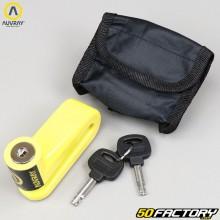 Cadeado de disco amarelo Auvray BD22