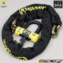 Cadeia antifurto aprovada seguro SRA Auvray Xtrem 1m40