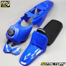 Kit completo de carenados Yamaha PW 50 Fifty azul