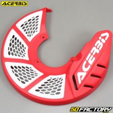 Front brake disc protector Ø280mm Acerbis X-Brake 2.0 red and white