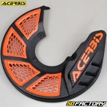 Front brake disc protector Ø280mm Acerbis X-Brake 2.0 black and orange