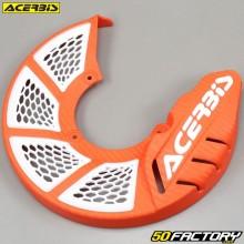Front brake disc protector Ø245mm Acerbis X-Brake 2.0 orange and white