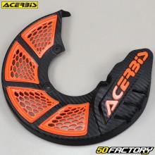 Front brake disc protector Ø245mm Acerbis X-Brake 2.0 black and orange