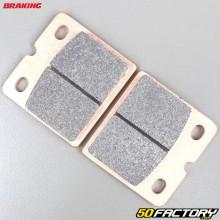 Plaquettes de frein métal fritté Benelli SEI 750, BMW R80 800, Ducati Paso 750... Braking Evo