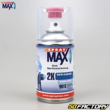 Varnish 2K rapid 90E shiny professional quality with Spray Max hardener 250ml