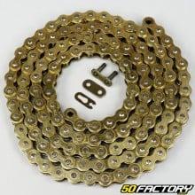 Eslabones de oro 420 reforzados con cadena 138