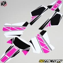 Kit de decoração Yamaha PW 50 Pink Kutvek