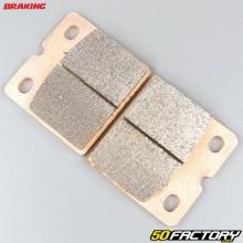 Plaquettes de frein métal fritté Benelli SEI 750, BMW R80 800, Ducati Paso 750... Braking