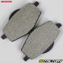 Plaquettes de frein organique Yamaha DTR 125, Banshee 350, Tenere 660... Braking