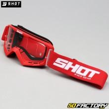 Masque Shot Rocket taille enfant rouge