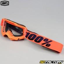 Occhiali 100% Accuri 2 arancione neon schermo trasparente